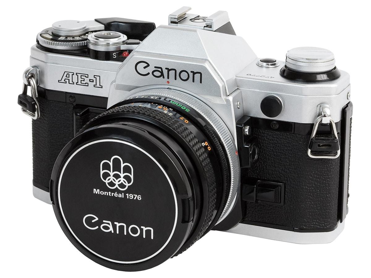 Best traditional film cameras canon ae 1 35mm film camera