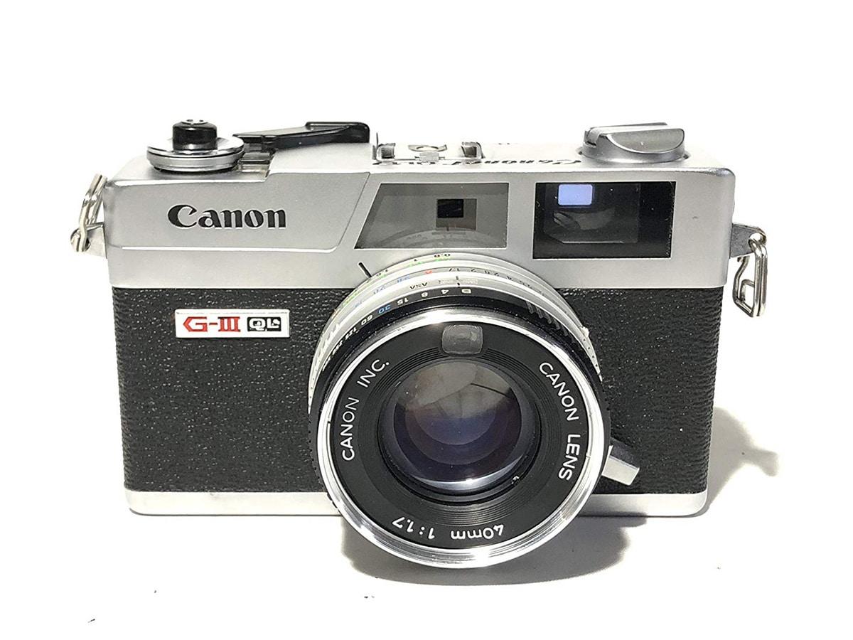 Best traditional film cameras canon canonet ql17 giii film camera