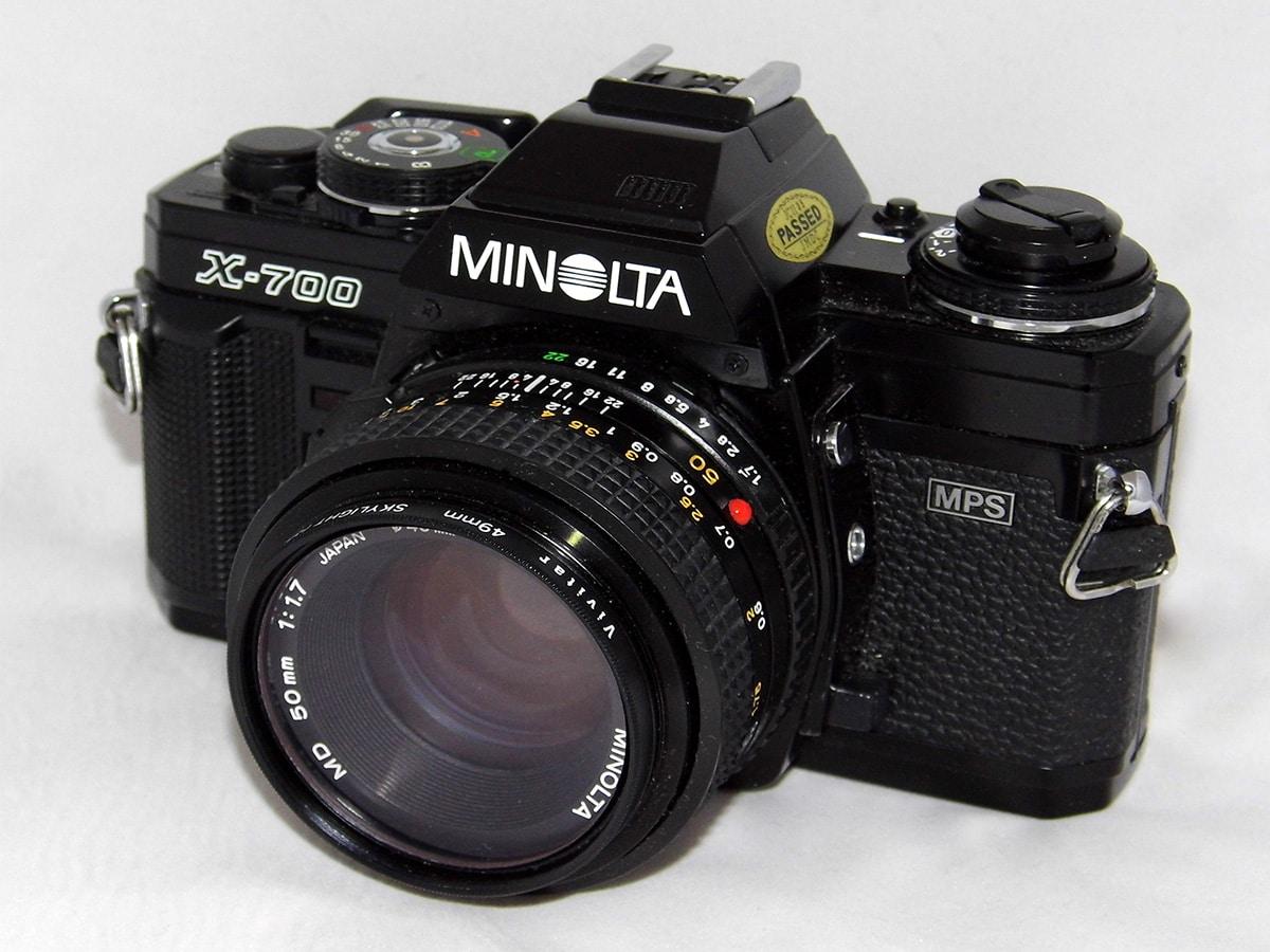 Best traditional film cameras minolta x 700 35mm slr film camera