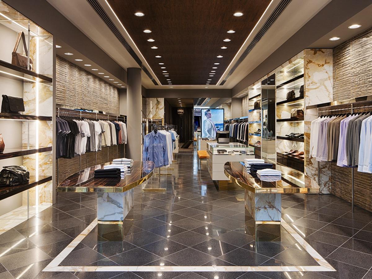 Calibre store interior Rundle Mall Adelaide