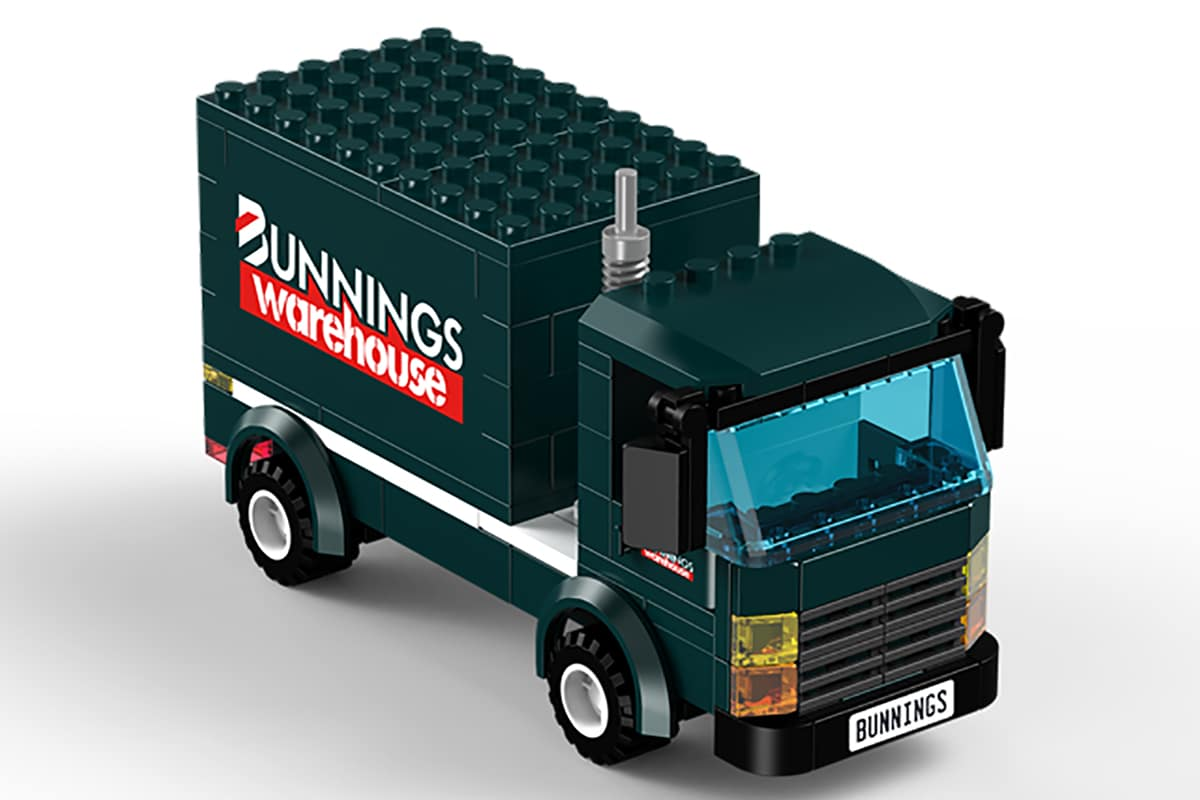 Bunnings LEGO Truck