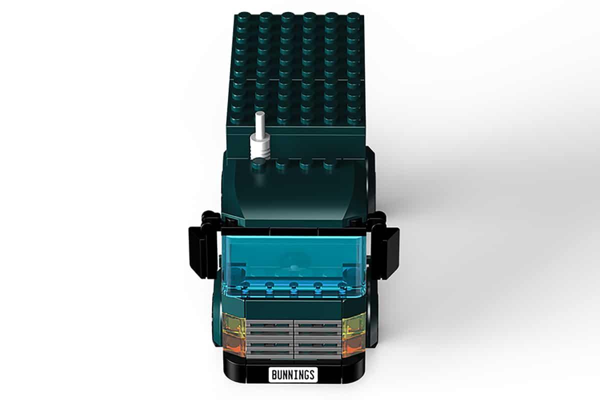 Bunnings LEGO Truck front