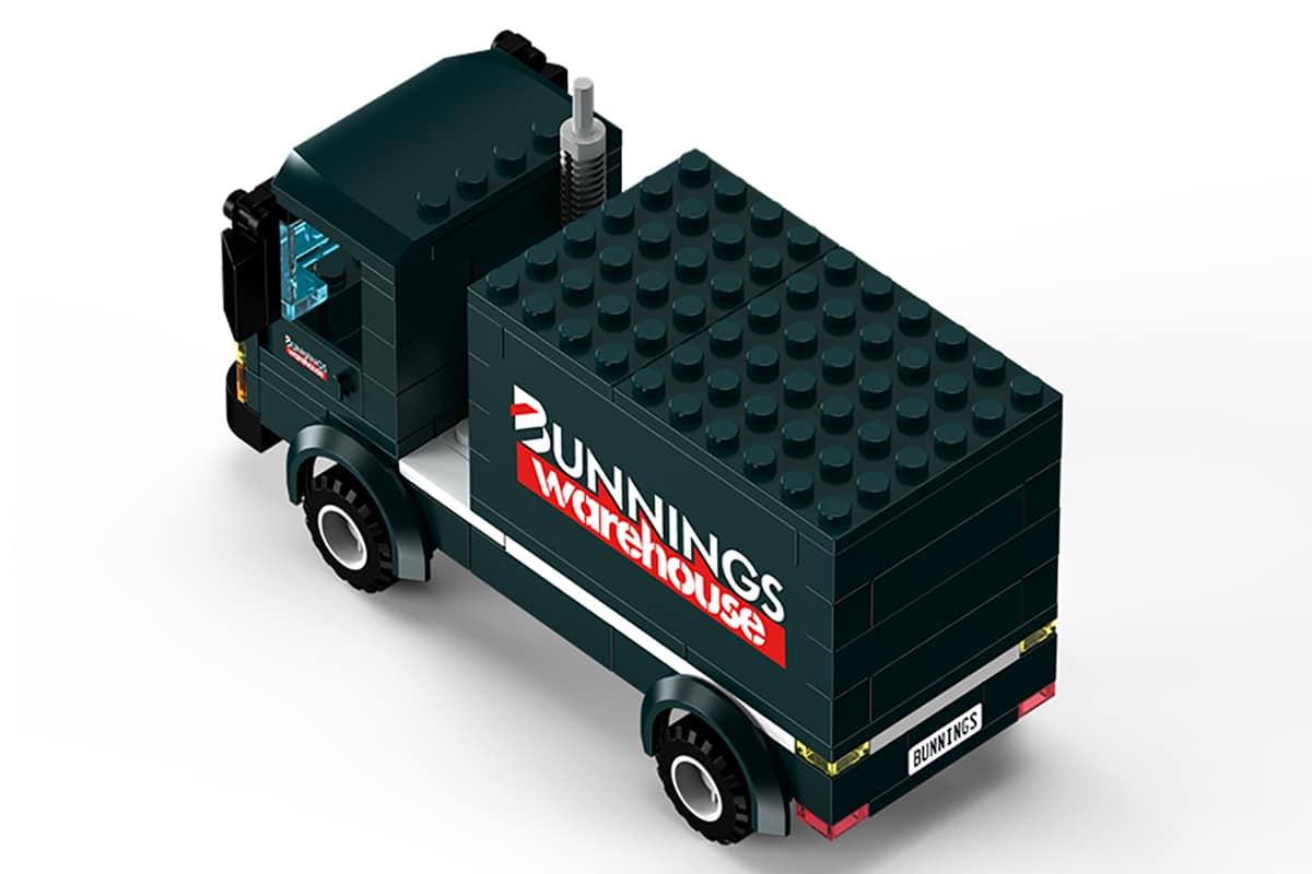 Bunnings LEGO Truck top