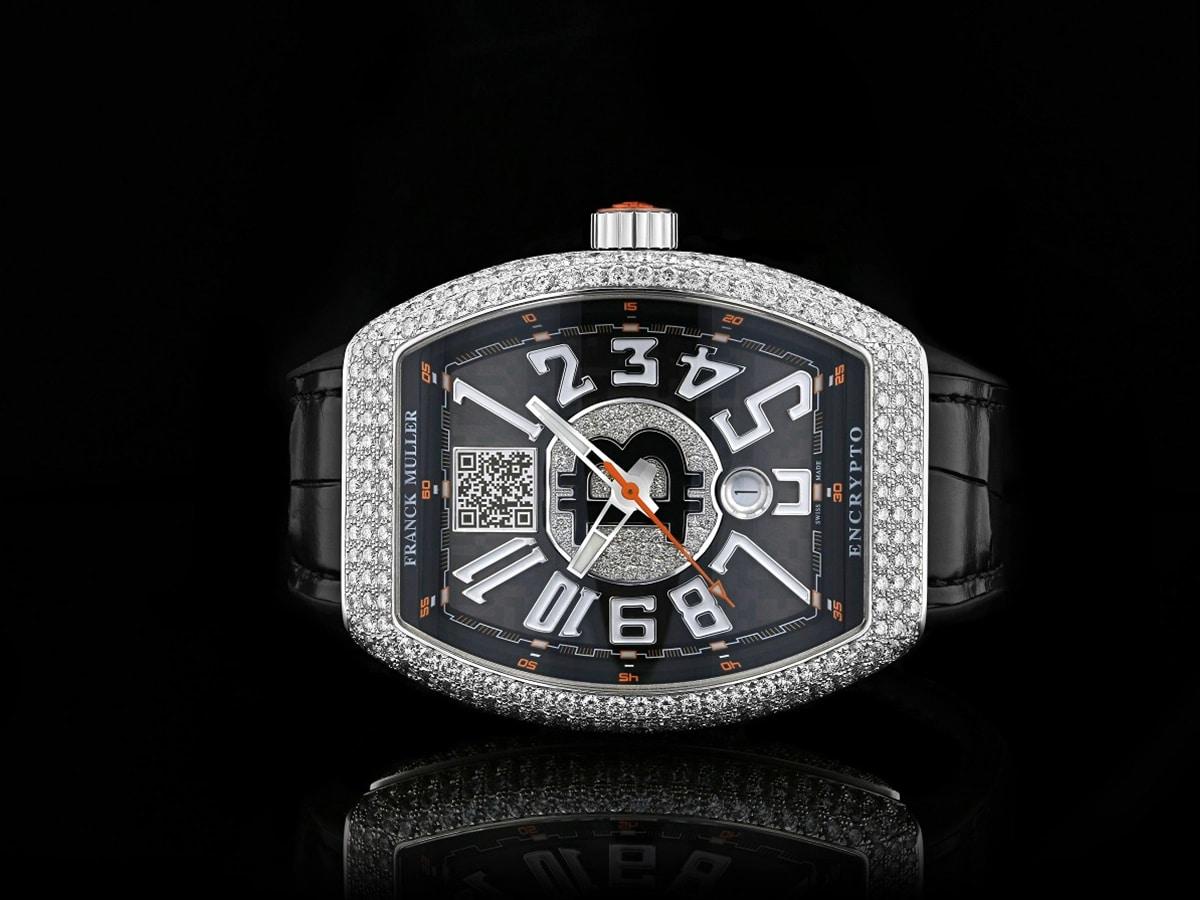 Franck Muller Custom Diamond Encrusted