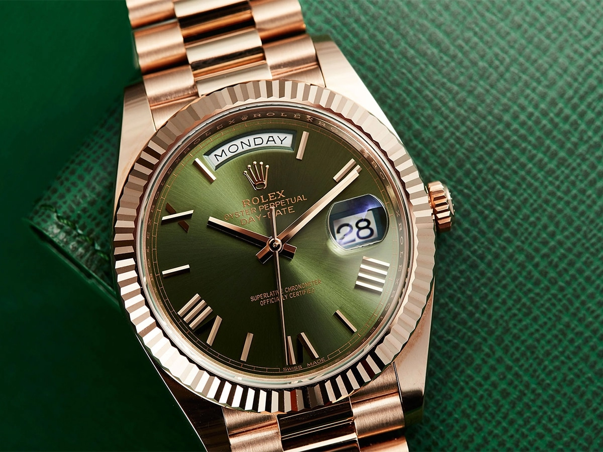 Rolex Oyster Perpetual Day-Date 40 Green Dial