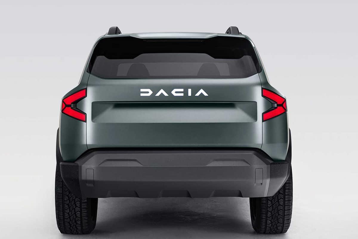 Dacia Bigster SUV back