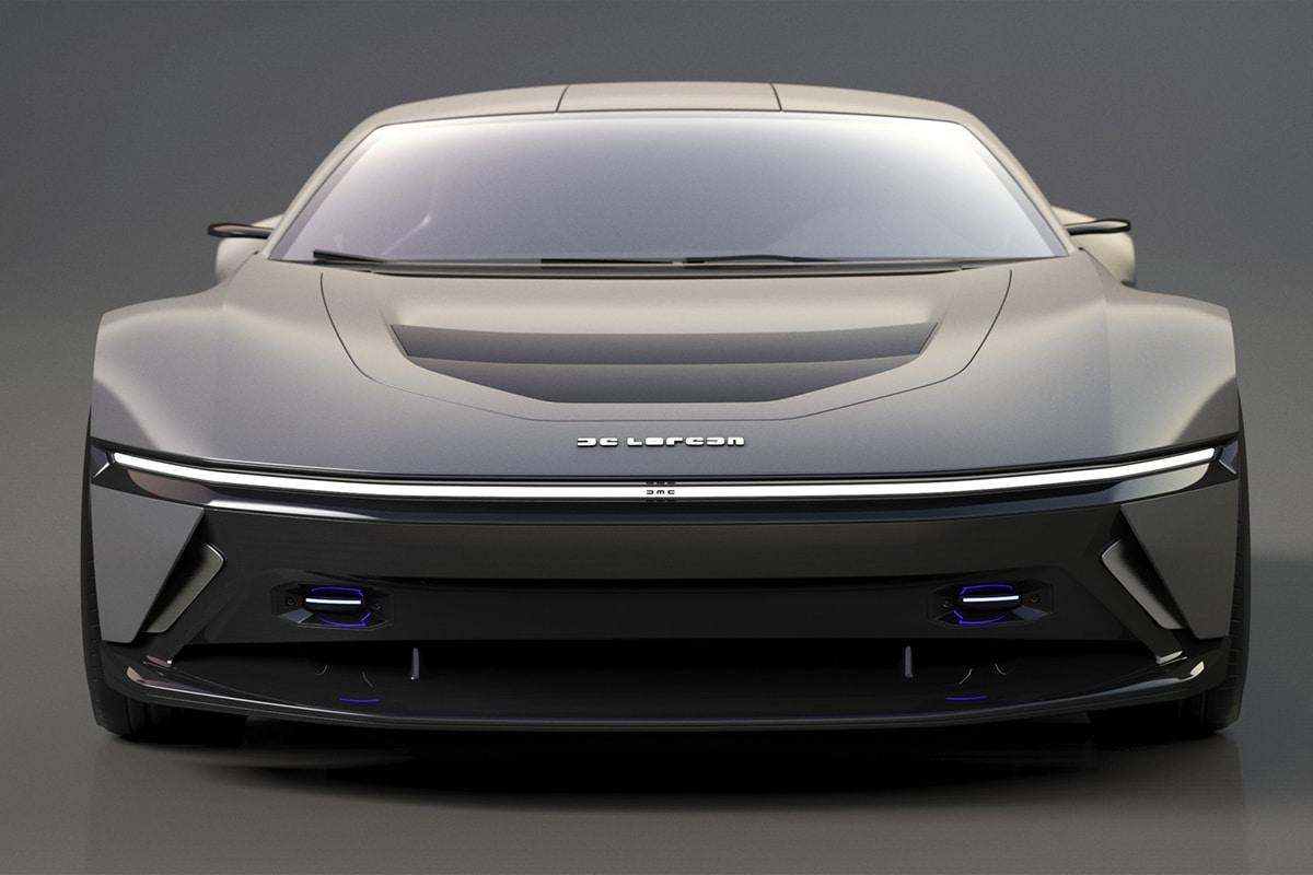 Delorean 2021 Concept front