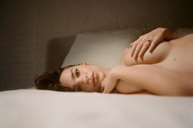 Emily Ratajkowski Pregnancy Shoot