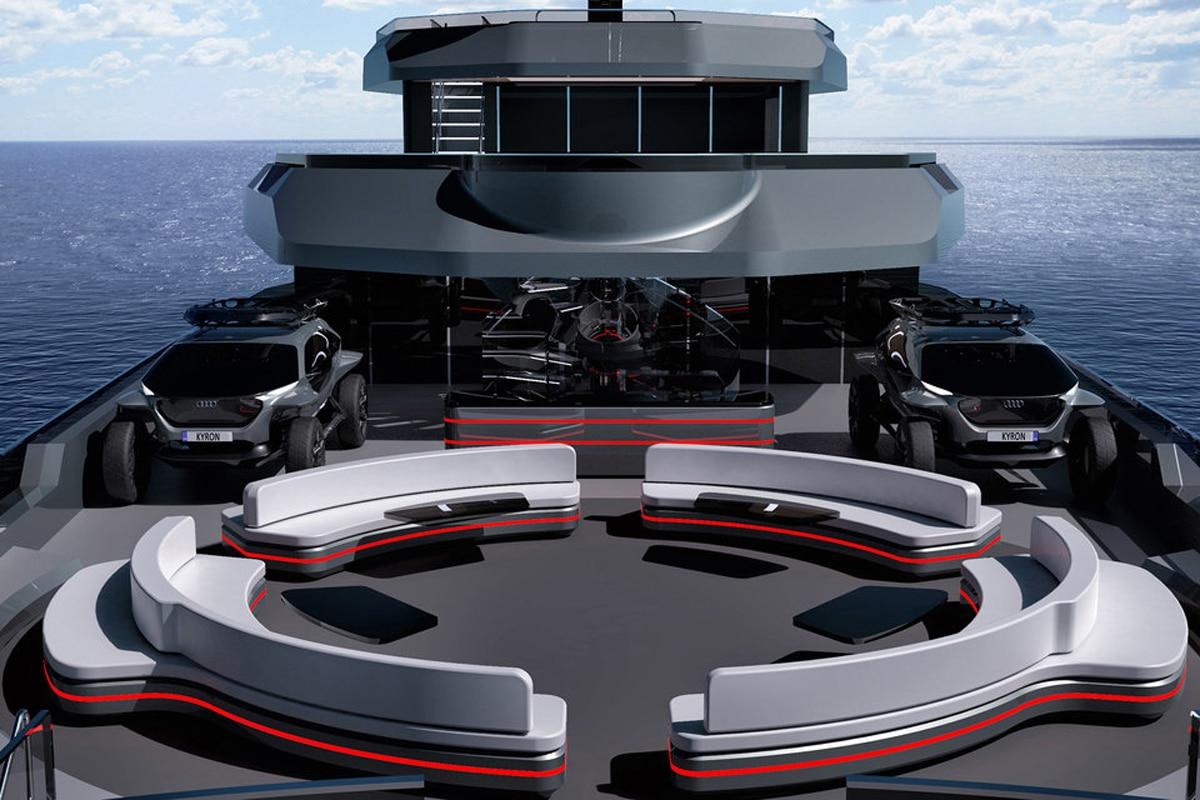 Kyron Design Nzuri Superyacht view deck