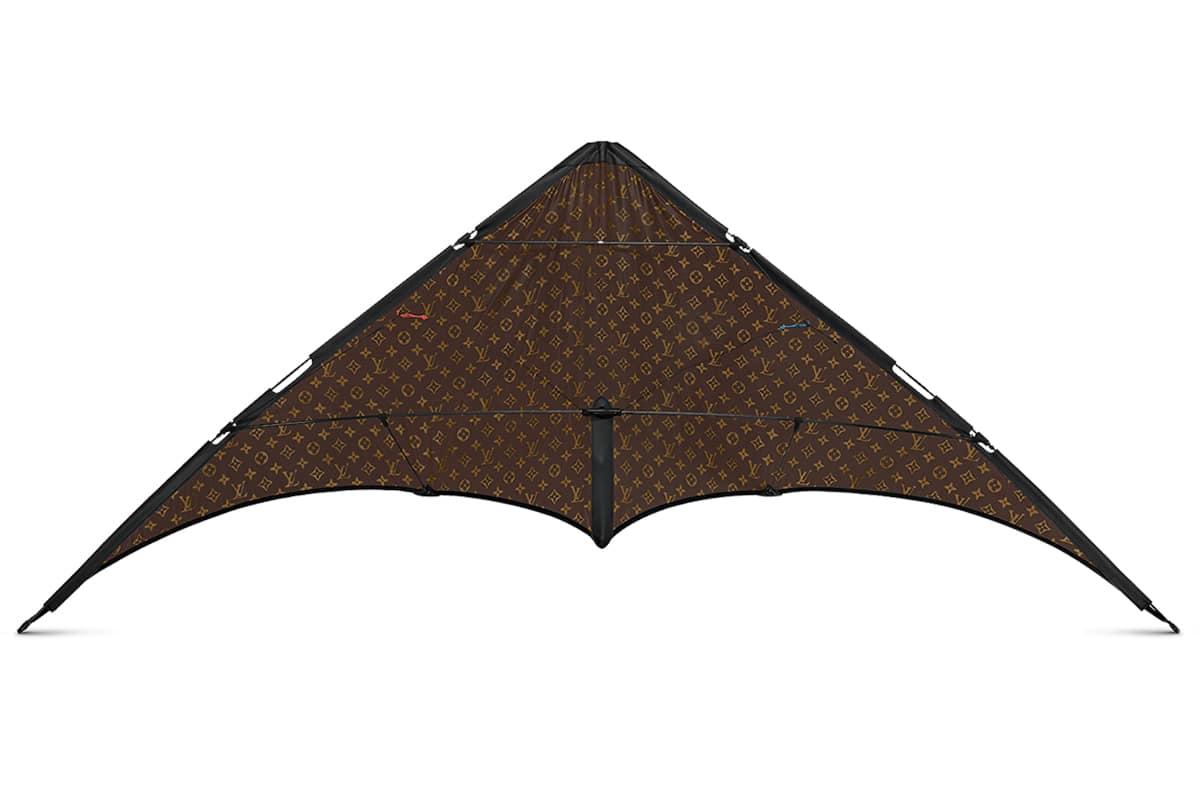 Louis Vuitton Monogram Kite inside look