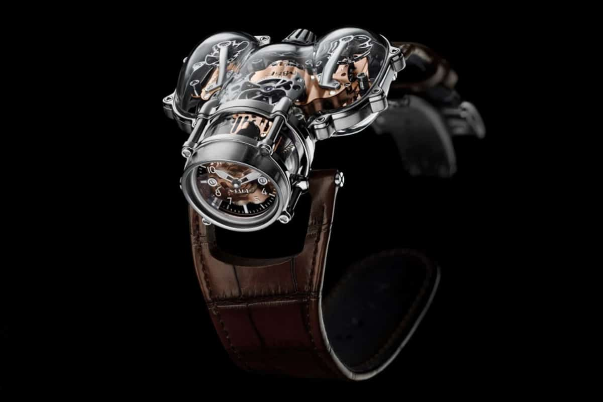 MB&F housed its latest HM9 front