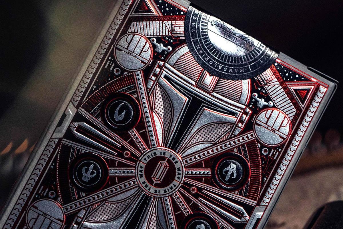 closer look on Mandalorian Playing Cards