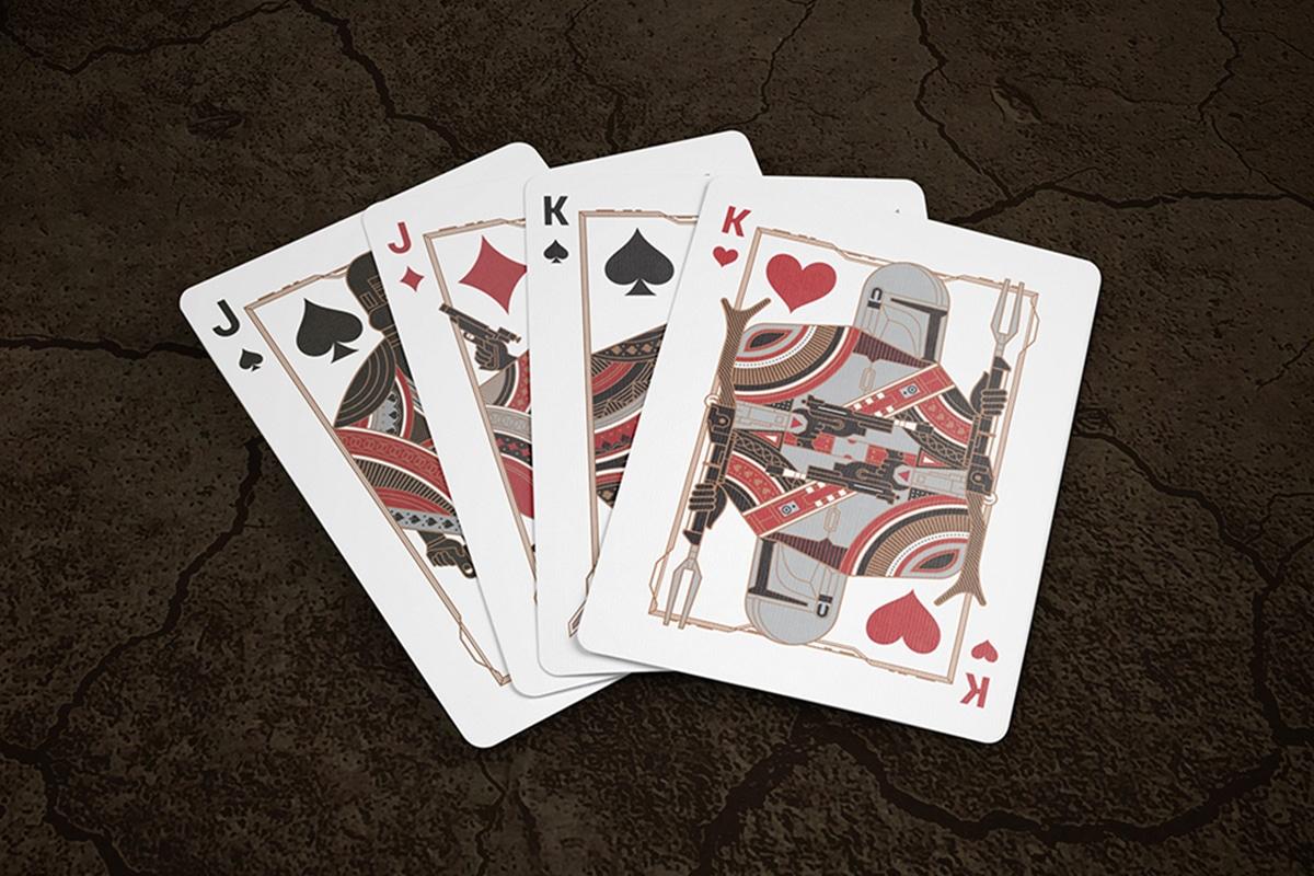 Mandalorian Playing Cards King Jack