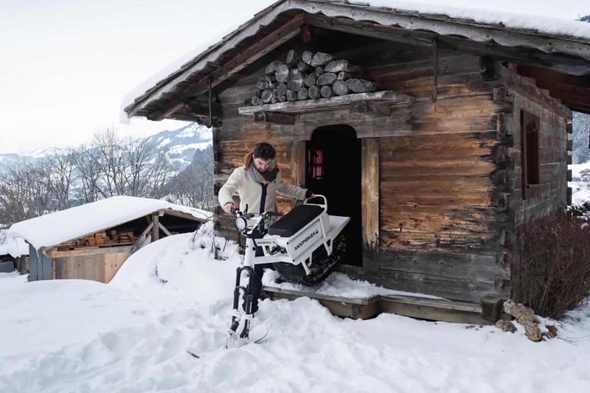 Moonbike Stardust cabin