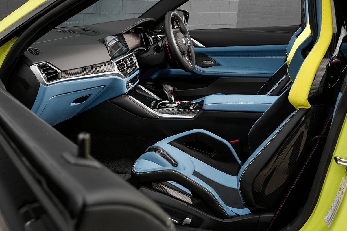 New BMW M4 Interior 1