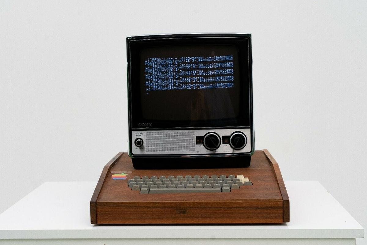 Original Apple Computer for $1.5 Million front