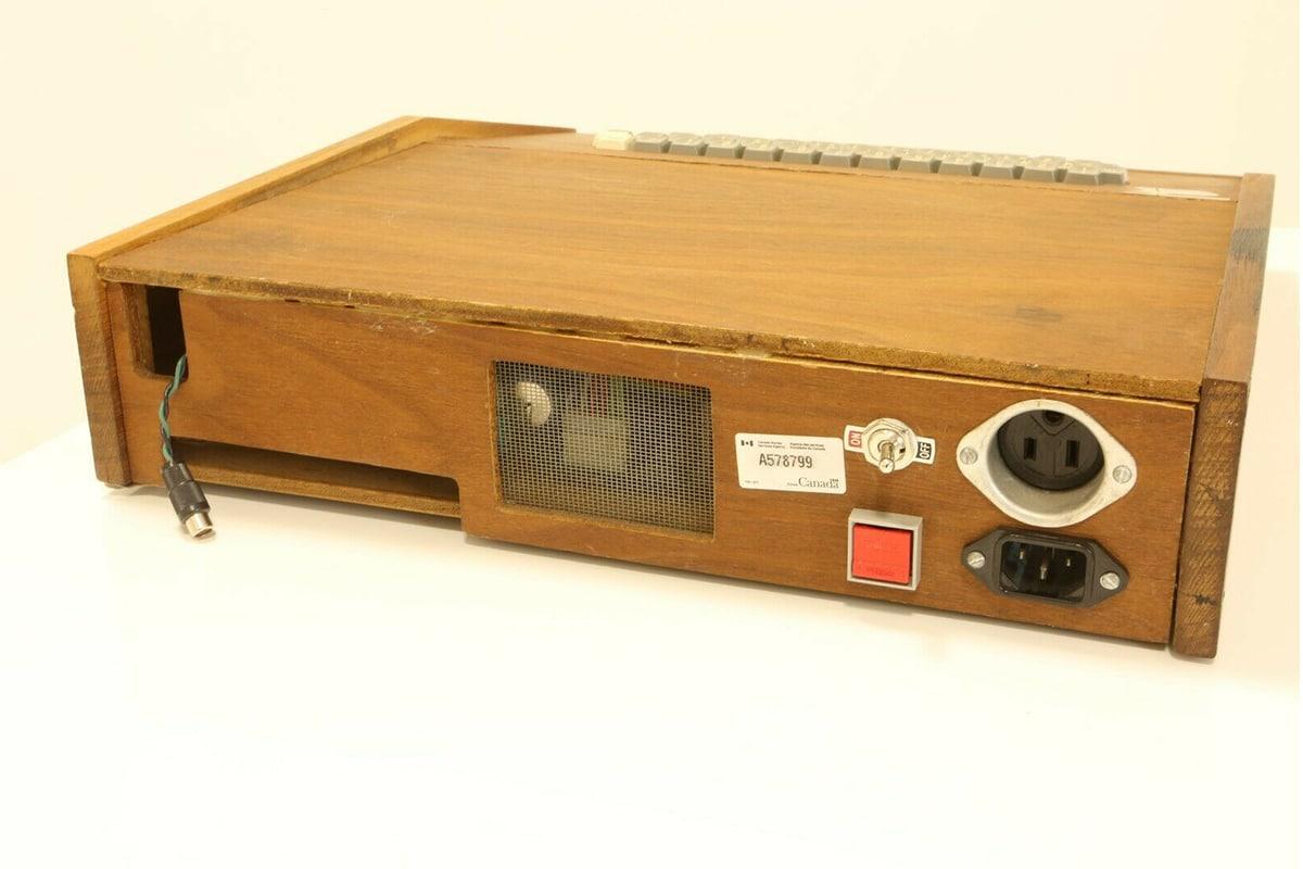 Original Apple Computer for $1.5 Million stand
