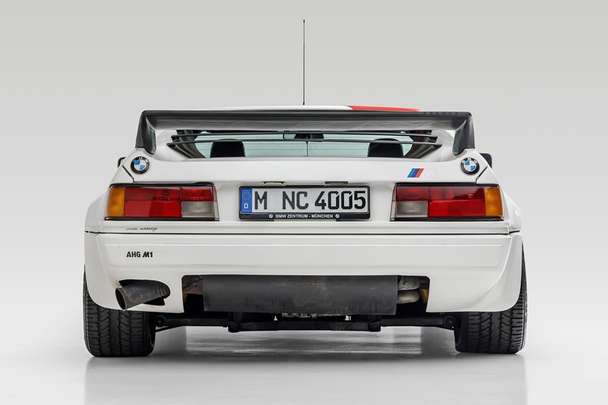 Paul Walker's BMW M1 AHG Studie Coupe back