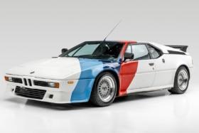 Paul Walker's BMW M1 AHG Studie Coupe side