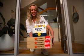 Pizza hut Beer 2