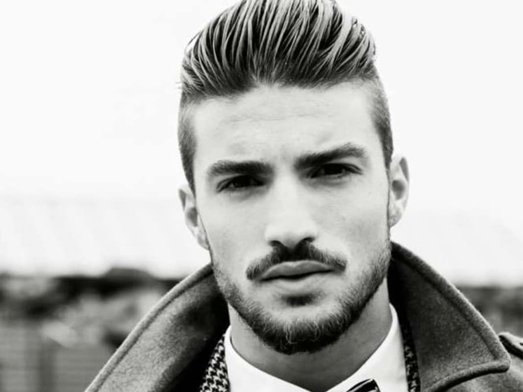 Pompadour haircut hairstyles for men
