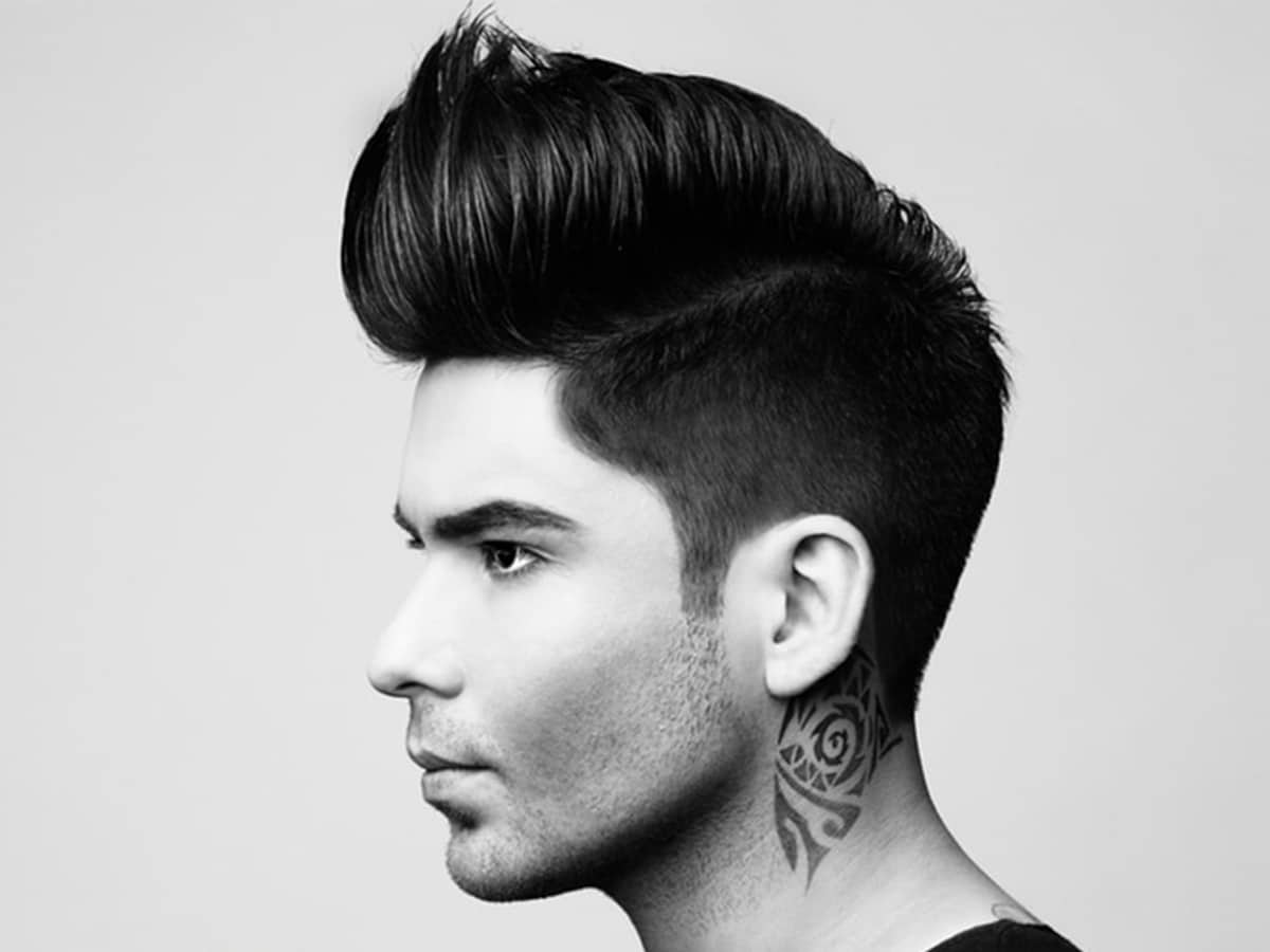 Pompadour haircut hairstyles for men 11