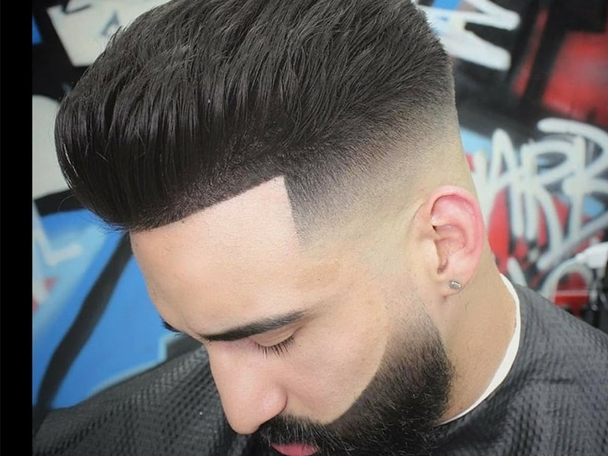 Pompadour haircut hairstyles for men 5