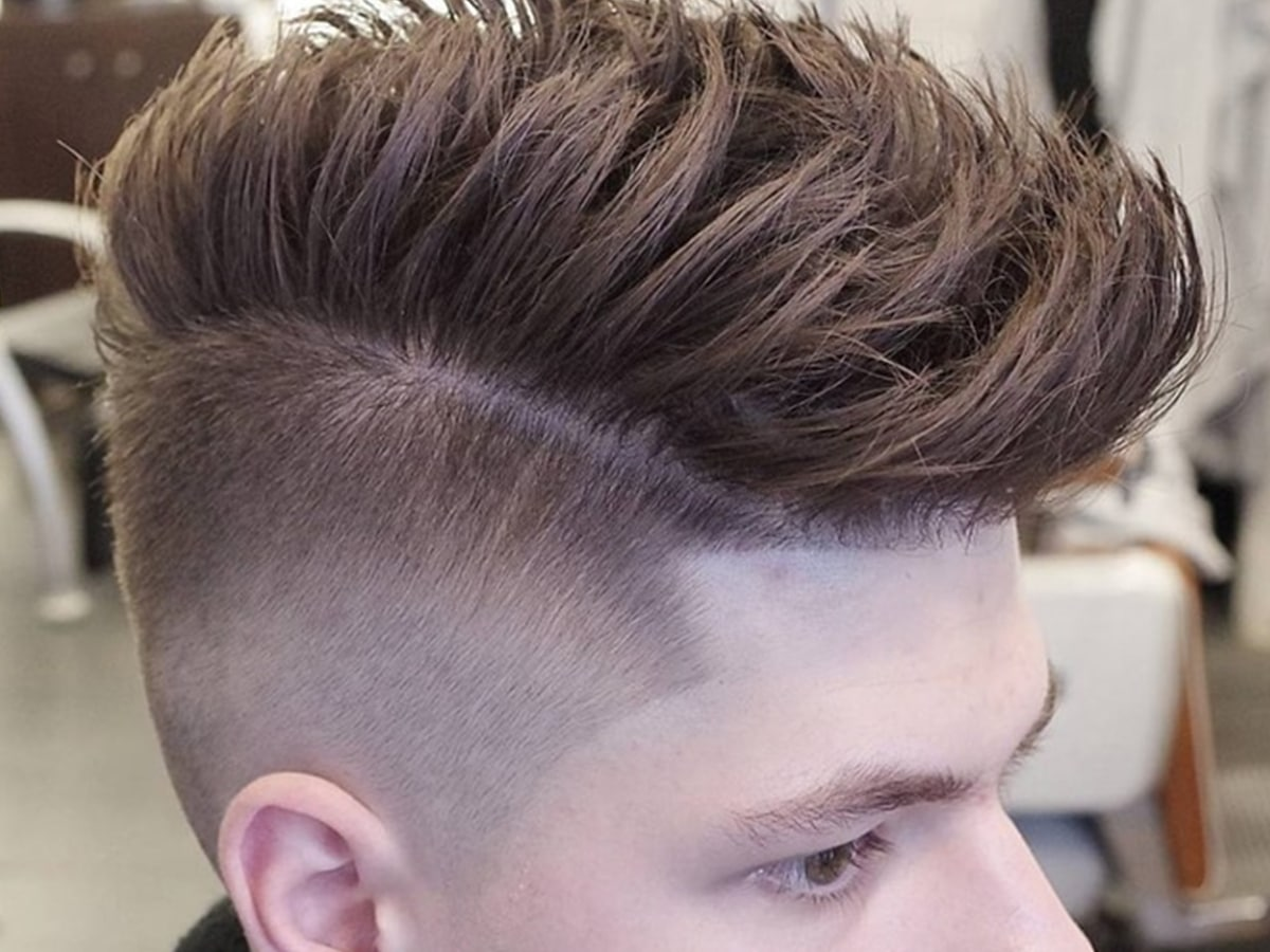 Pompadour haircut hairstyles for men 8