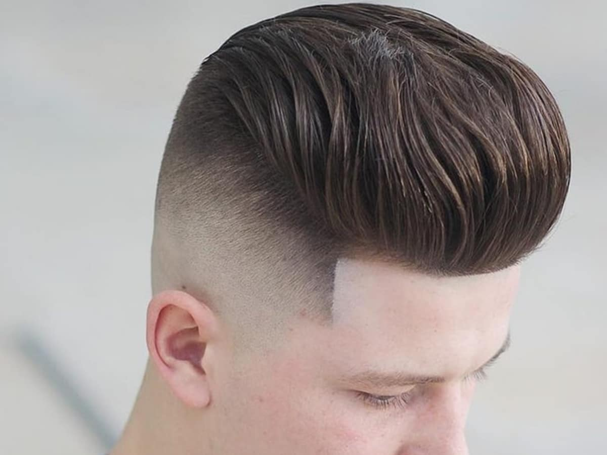 Pompadour haircut hairstyles for men 9