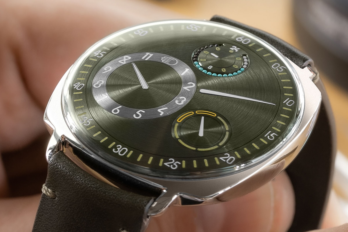 Ressence The Type 1 Squared X top