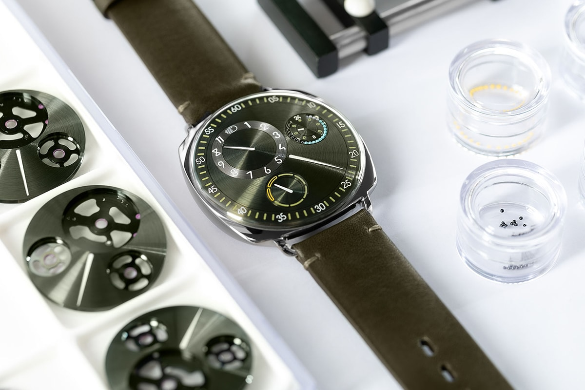 Ressence The Type 1 Squared X on the table