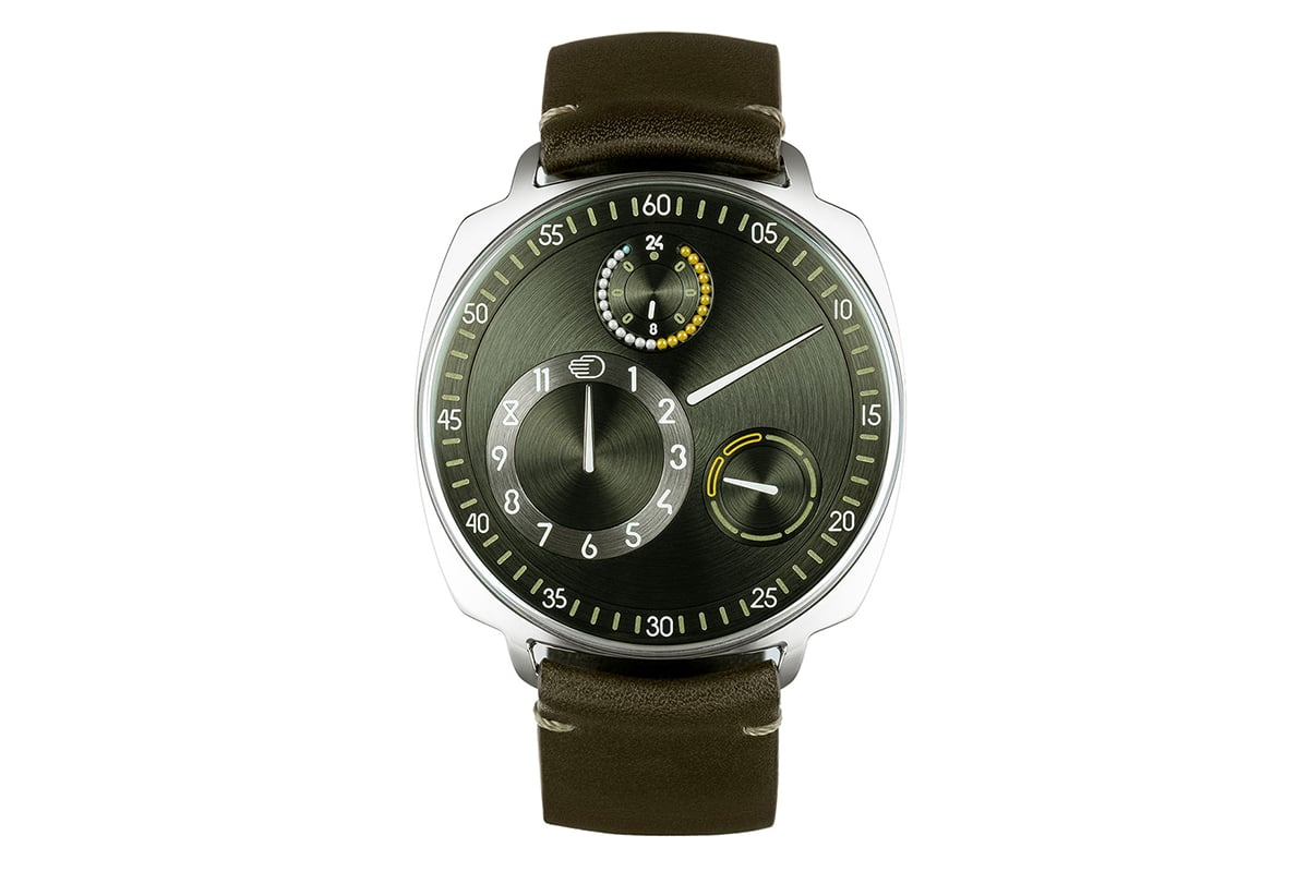 Ressence The Type 1 Squared X front