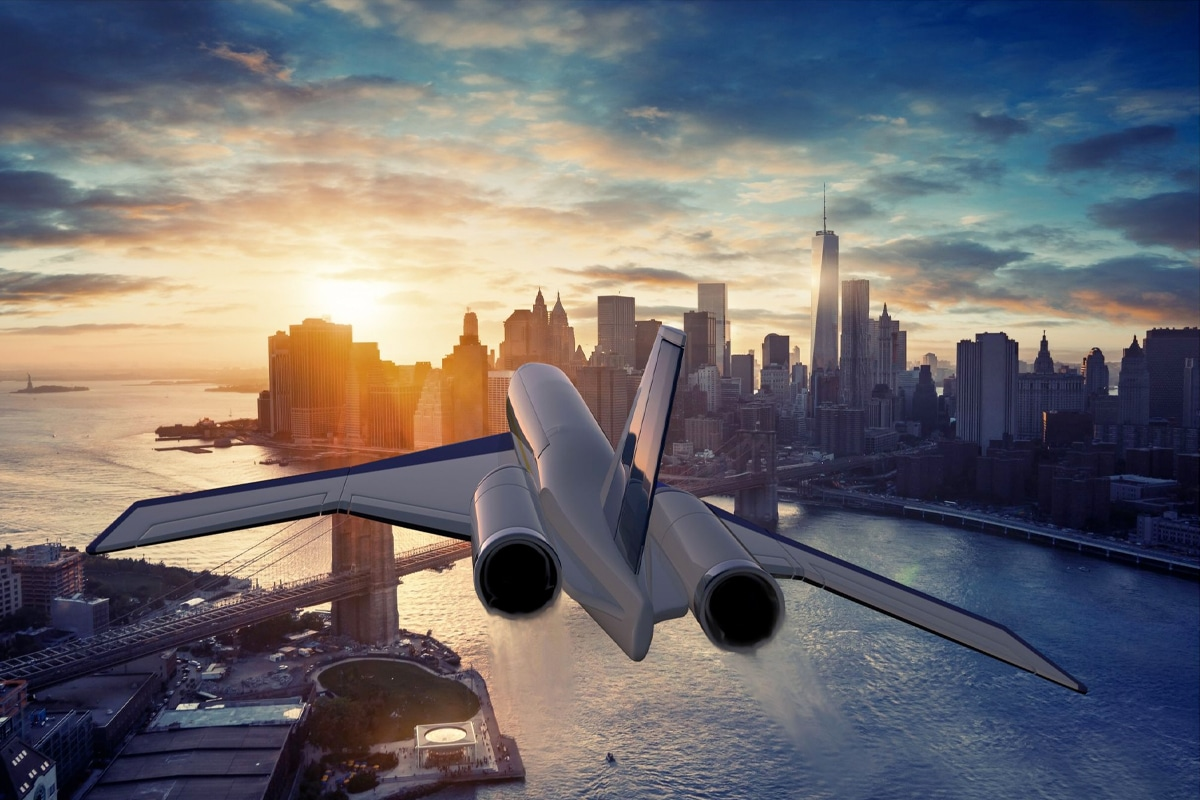 Сверхзвуковой самолет «Новый Конкорд» сможет долететь из Лондона до Нью-Йорка за 3 часа |  Человек многих
