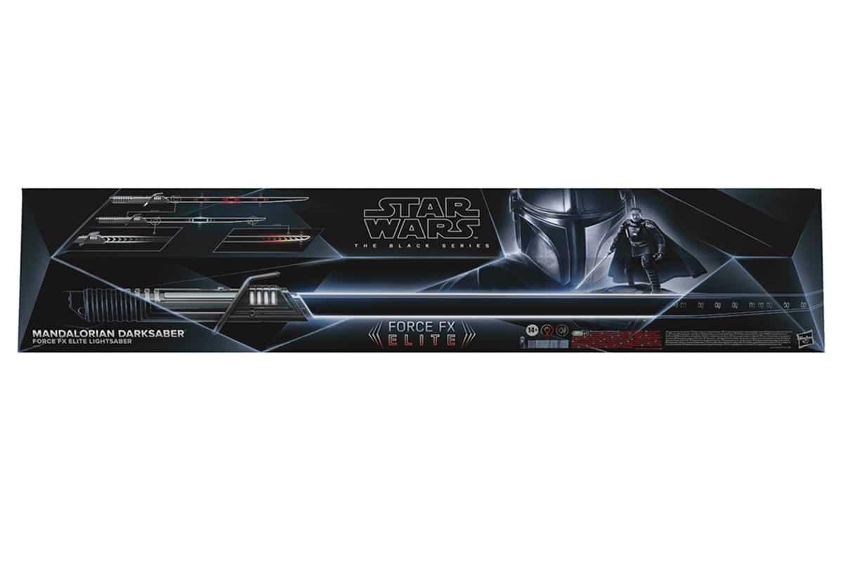 Star Wars The Black Series Mandalorian Darksaber box