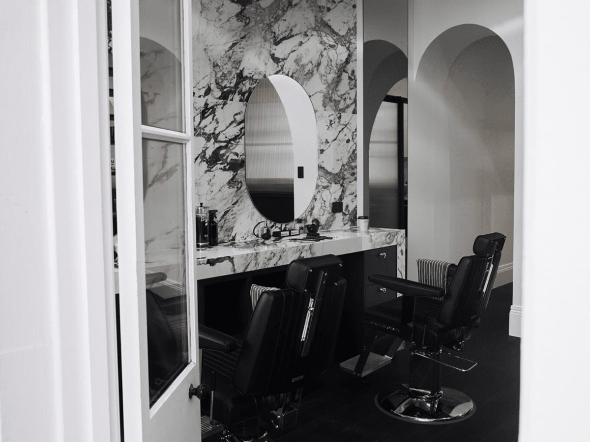 The bespoke corner barbers