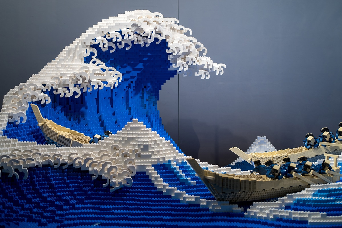 The Great Wave Lego