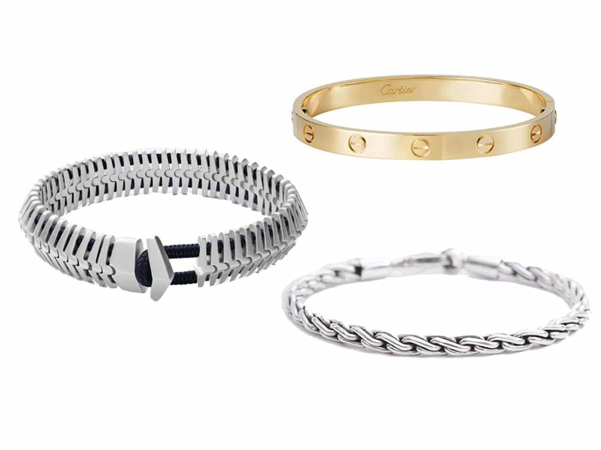 Ways to look wealthy with mens jewellery bracelets