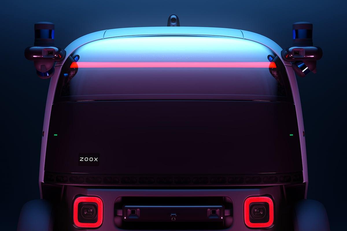 Zoox Amazon's Self Driving Taxi sensor