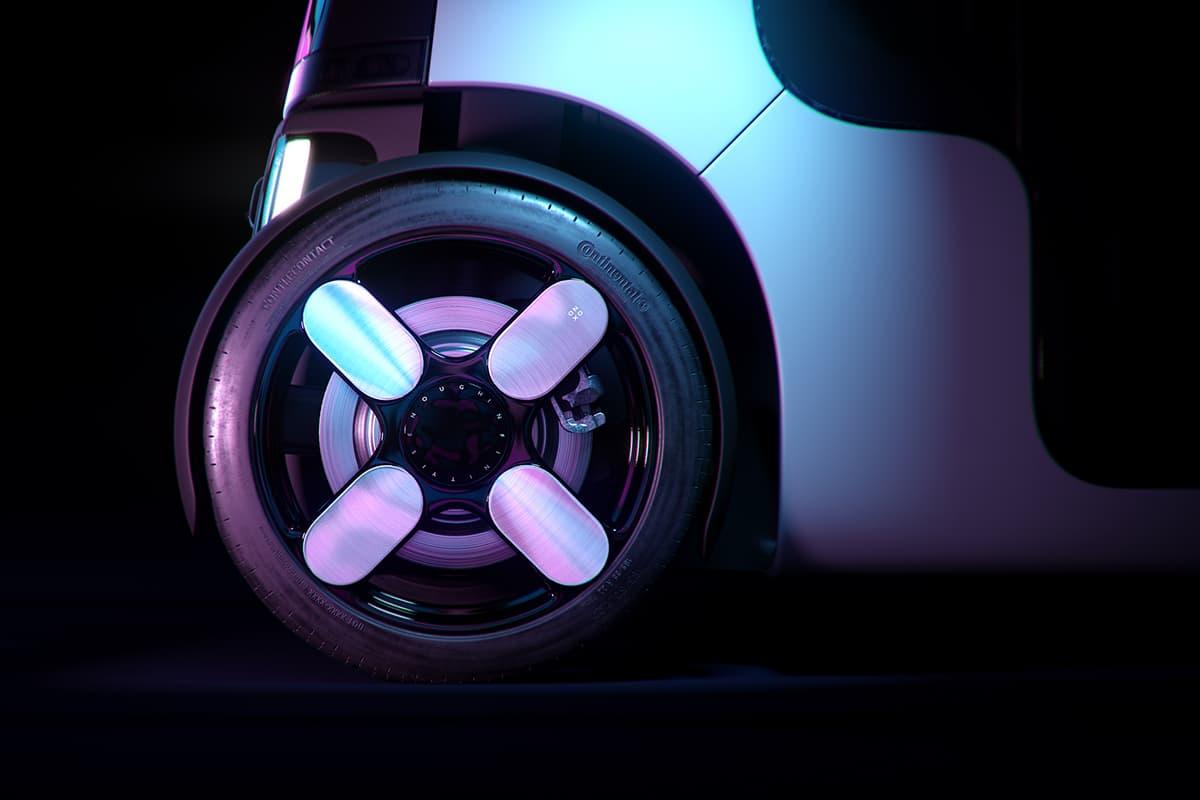 Zoox Amazon's Self Driving Taxi wheel