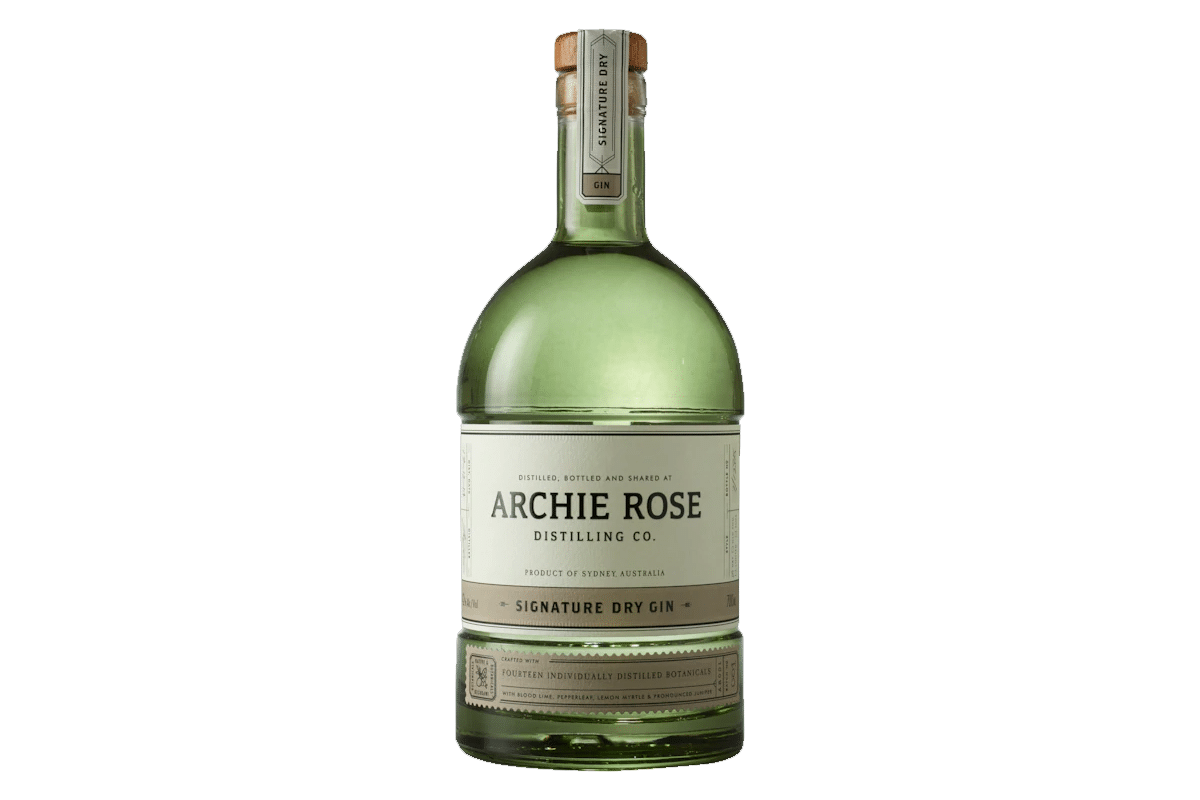 Archie rose distilling co signature dry gin