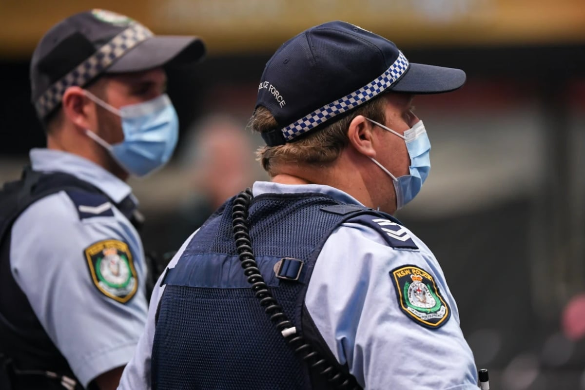 Two Australian Police Officers
