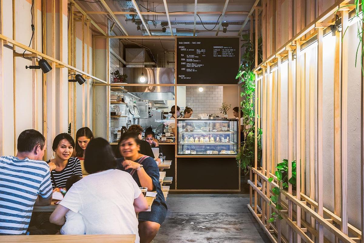 saga Enmore cafe interior