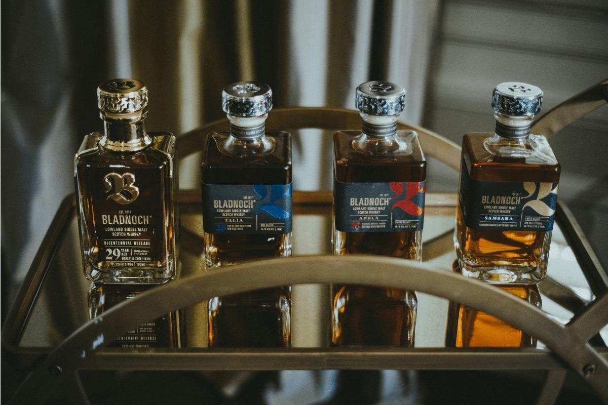 Bladnoch bicentennial scotch whisky