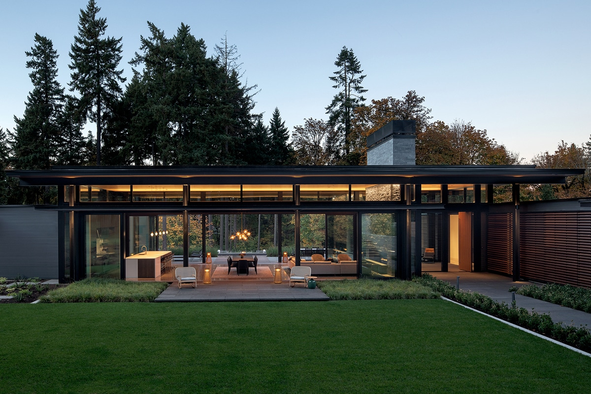 Glass link house 2