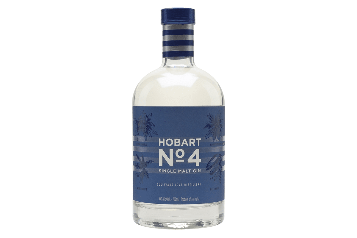 Hobart no 4 single malt gin