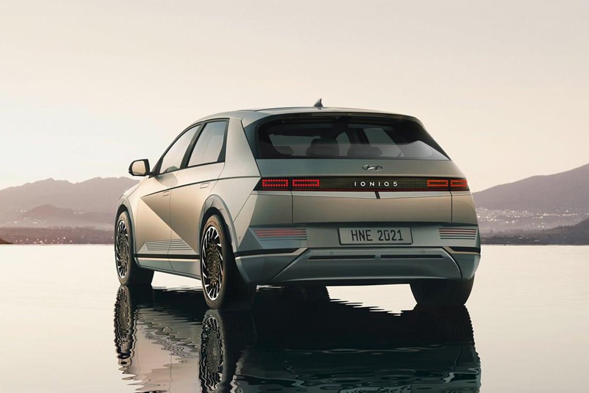 Hyundai all electric 2022 ioniq 5 4