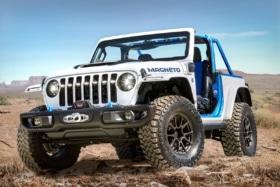 Jeep magneto electric wrangler concept