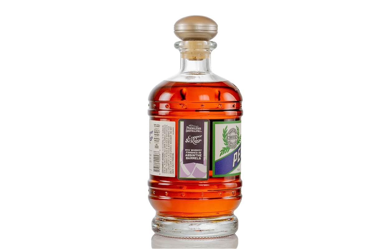 Kentucky peerless kings american brandy co rye aged in absinthe barrels 2