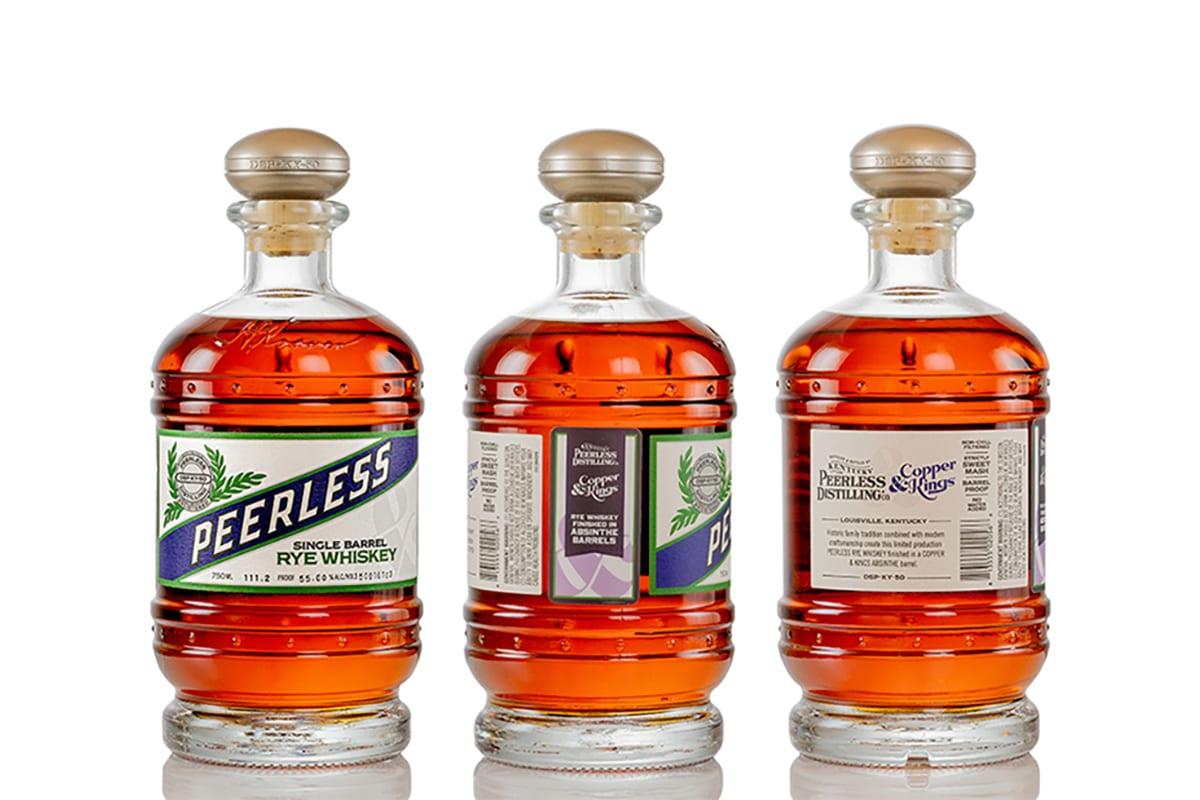 Kentucky peerless kings american brandy co rye aged in absinthe barrels 4