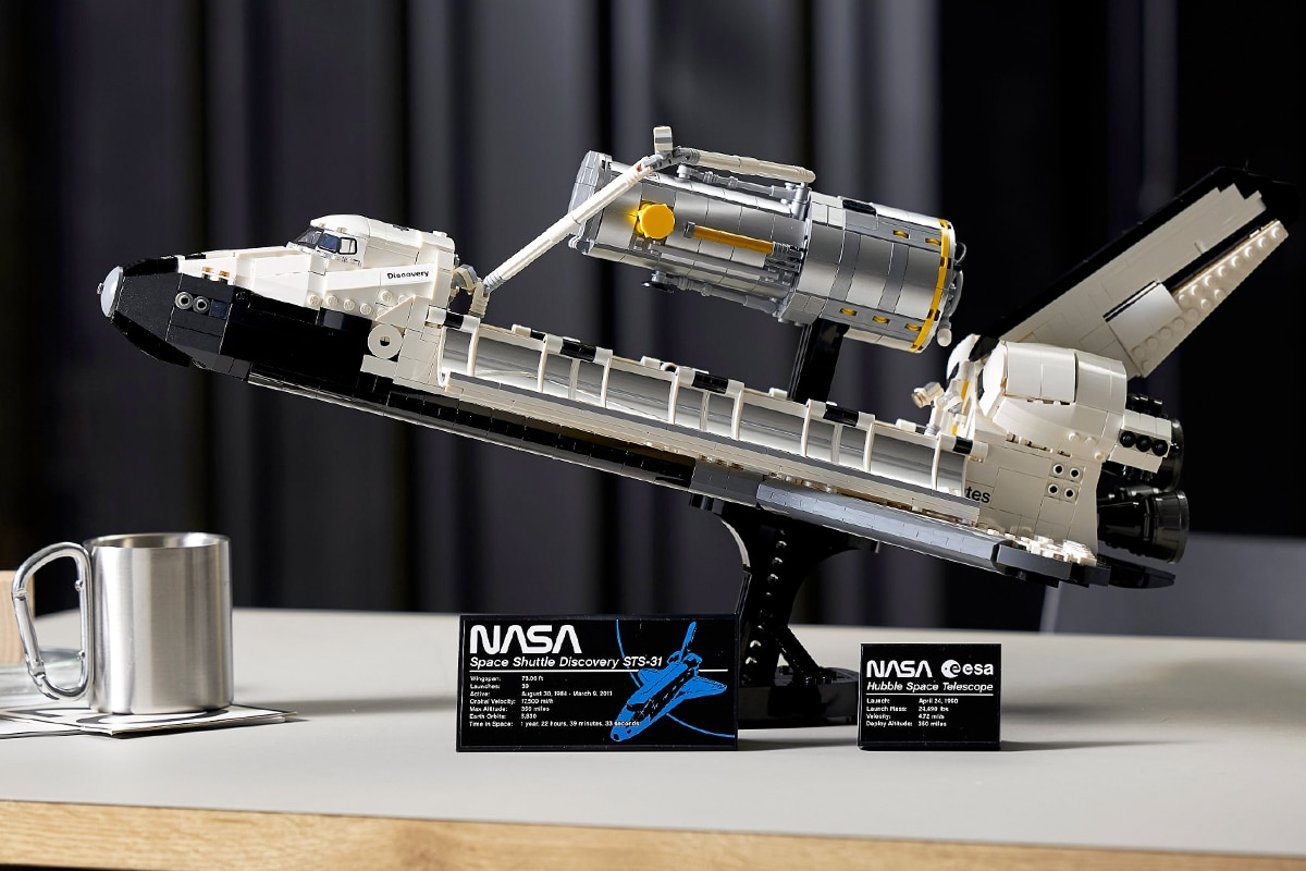 Lego nasa discovery and hubble set